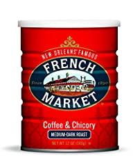 Original Coffee and Chicory: This delicious blend of exotic coffee beans is roasted and blended with the finest imported French chicory for a pleasantly authentic finish to a New Orleans Meal Medium-Dark Roast Ground Coffee: Our bold medium-dark roas...