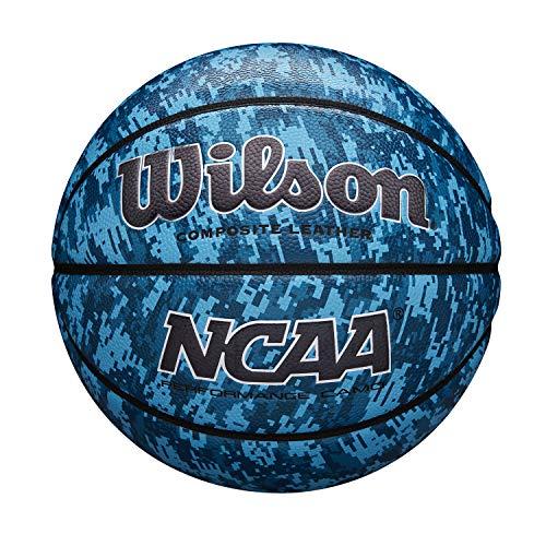 Wilson Basketball NCAA PERFORMANCE CAMO, Größe: 7, Komposit-Leder, blau, WTB07320XB07
