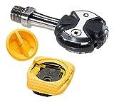 Speed Play Zero Titanio Juego de pedales Incluye ballena Kable Cleats Max. 85kg, 61000Pedales, color negro, Uni