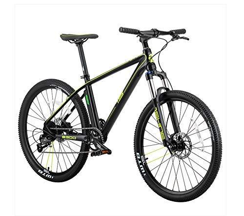 Mnjin Bicicletta Ecologica Intelligente con velocità elettrica Automatica dell'onda, Bicicletta da Montagna Intelligente con Cambio elettronico promessa, Verde