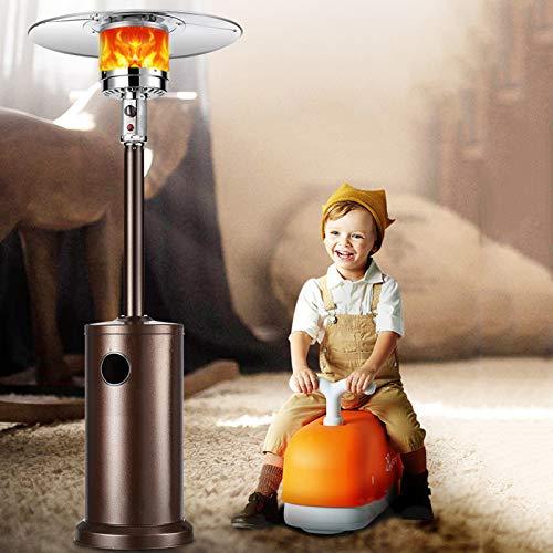 L-ELEGANT Radiador de Exteriores Calentador de Gas,Calentador Habitación Radiador de Exteriores,Estufa Gas Calefactor Seguridad Calentamiento Rápido-A (Gas Natural) 180cm-240cm(71-82in)