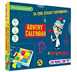 The Crazy Scientist Advent Calendar - 24 Cool Science Experiments - 2021 Countdown to Christmas for Kids Who Love Science. Age 8-99