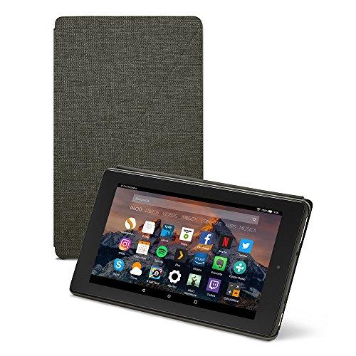 Amazon - Funda para Fire 7 (tablet de 7 pulgadas, 7ª generación, modelo de 2017), Negro