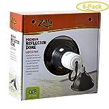 Zilla Premium Reflector Dome - Light & Heat 8.5' - Pack of 6