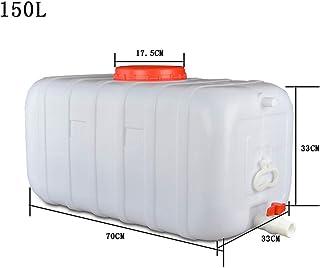 Layla Beauty Store Seau De Stockage d'eau Seau De Stockage d'eau Rectangulaire en Plastique Horizontal pour Usage Domestiq...