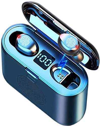 Auriculares Inalambricos Eaglesounds 3en1,Auriculares Bluetooth,Altavoz, Bateria Externa Movil,Soporte Movil,Cascos Inalambricos con Microfono Incorporado,TWS Deporte,Color Negro