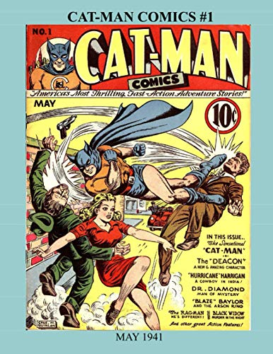 Cat-Mat Comics #1: May 1941 -- The First Classic Issue!