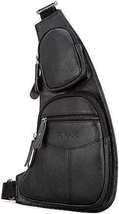 PYIP RucksackHerren Brust Pakete Schulter Crossbody Tasche 38 cm  21 cm  2 cm B07PHQQFPK | Outlet Store