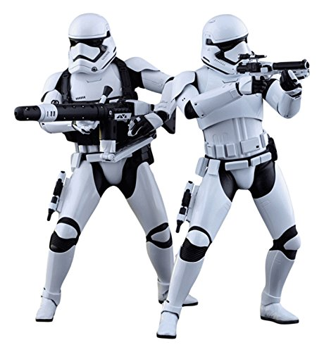 Hot Toys 1:6 Scale Star Wars The Force Awakens First Order Stormtrooper Figure (Pack of 2)