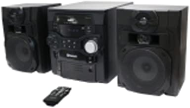 RCA RS2867B 5-CD 300W Audio Shelf System with Bluetooth consumer electronics