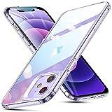 ESR iPhone12 用 ケース iPhone12 Pro 用 ケース 6.1インチ 透明 9H背面 tpuバンパー 薄型 黄変防止 クリア