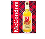 I Luv LTD, I Luv LTD McCONDOM Pack of 2 Whisky Flavoured Scottish Condoms