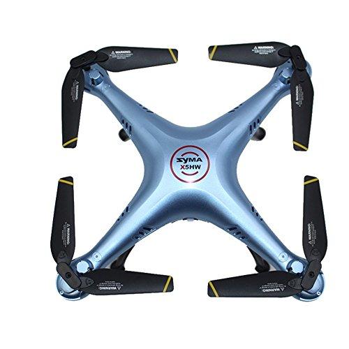 Alecony 4 pz eliche a basso rumore, 2020 aggiornamento lame a sgancio rapido compatibili con Syma X5 X5C X5S X5SC X5SW Drone Quadcopter Accessori, CW CCW pieghevole RC veicolo eliche puntelli