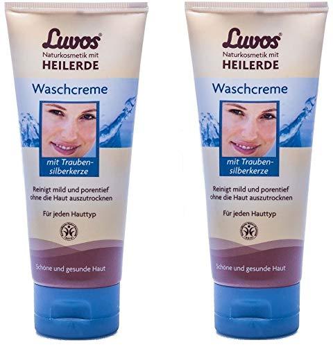 Luvos Waschcreme (2er Pack) - reinigt die Haut besonders sanft (2x100ml)