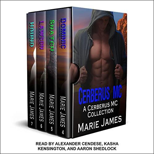 Cerberus MC, Box Set 2 Audiobook By Marie James cover art