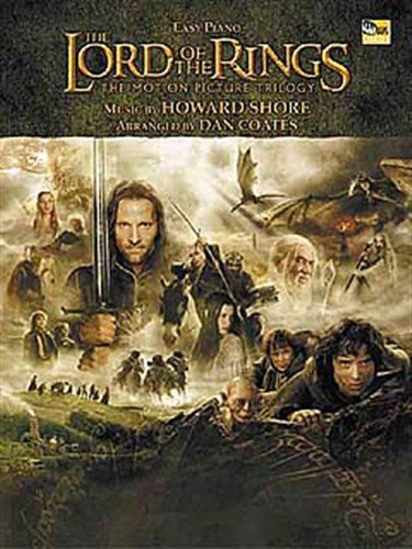 The Lord Of The Rings Trilogy: Easy Piano. Für Klavier