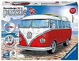 Ravensburger 3D Puzzle 12516 - Volkswagen T1 - Surfer Edition - 162 Teile