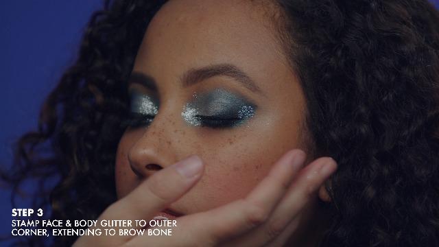 NYX PROFESSIONAL MAKEUP Face & Body Glitter, Gunmetal