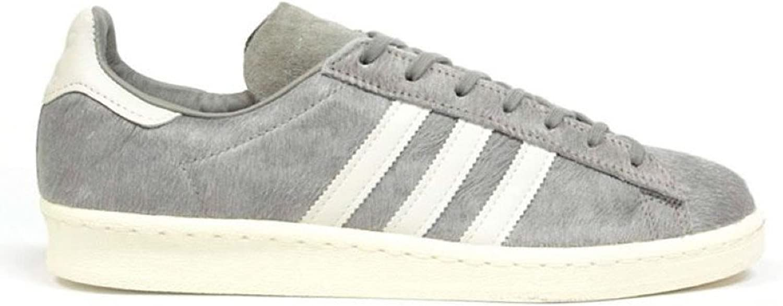 Adidas Campus 80s Premium - Grey White-UK 7.5-41.5