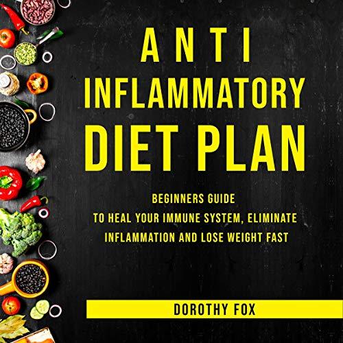Anti Inflammatory Diet Plan audiobook cover art