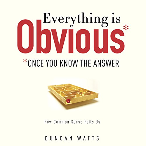 Everything Is Obvious audiobook cover art