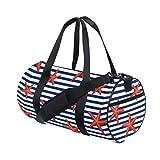 Rootti - Bolsa de deporte para gimnasio, diseño de estrellas, color negro, con cremallera, bolsa de viaje, bolsa de deporte, bolsa de yoga, impermeable, para hombre, mujer, niño, adulto