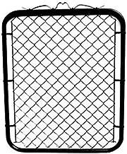 black vinyl coated fence posts