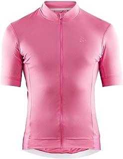 Craft Sportswear Essence Biking and Cycling UPF25+ Full Zip Short Sleeve Jersey