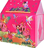 BabyGo Jumbo Size My Fairy Play Tents Light Weight,Water Proof Foldable Pipe Tent House for Kids (Multi Color, 2 to 8 Years Kids)
