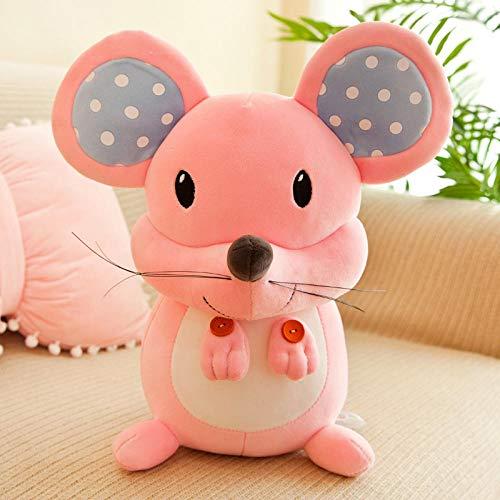 Pluche Zachte Pluche Mickey Mouse Pop Knuffel Kinderen Lappenpop Pop-Roze Mickey Mouse_40cm