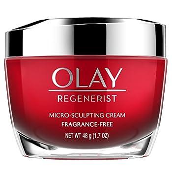 OLAY Regenerist Micro-Sculpting Cream Fragrance Free 1.70 oz