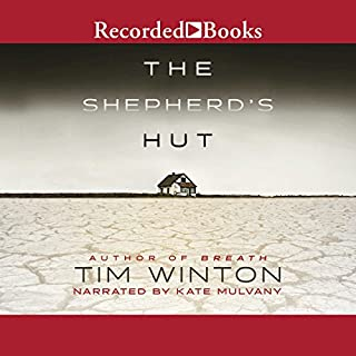 The Shepherd's Hut audiobook cover art