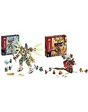レゴ(LEGO) ニンジャゴー 巨神メカ タイタンウィング 70676 ブロック おもちゃ 男の子 &  ニンジャゴー 爆炎! マグマノオロチ 70674 ブロック おもちゃ 男の子【セット買い】