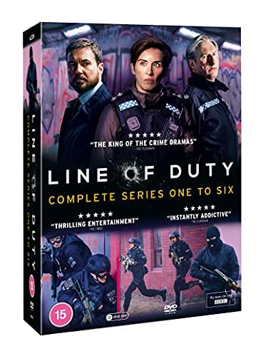 Line of Duty - Series 1-6 Complete Box Set [DVD] [Reino Unido]