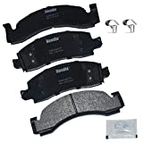 Workhorse Brake Hardware - Bendix Premium Copper Free CFM149 Semi-Metallic Brake Pad (with Installation Hardware Front)