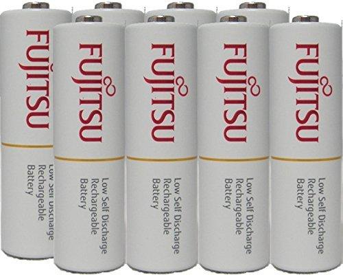Fujitsu Ready-to-use HR3UTC AA Rechargeable Battery NiMH 1.2V Min. 1900mAh Made in Japan 8 Pcs
