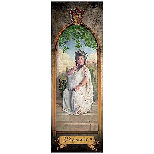 Harry Potter Poster | Die fette Dame / Fortuna Major | Türposter - Langbahnposter 158 x 53 cm