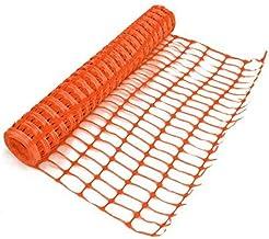 True Products b1003 C Standaard beschermnet van kunststof, rol, oranje, 4 kg 1 m x 50 m