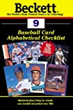 Beckett Baseball Card Alphabetical Checklist