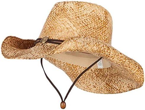 4 years warranty Women's Snake Skin Save money Print Raffia Cowboy Hat