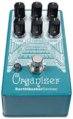 EarthQuaker Devices Organizer V2 Polyphonic Organ Emulator Guitar Effects Pedal