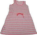 Olive & Oak Ladies' Size Large Sleeveless Drawstring Dress, Coral/Heather Gray