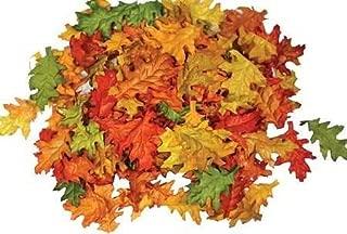 Assorted Mini Fall Color Oak Leaves - Pack of 90 Pcs