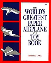 Best the world's greatest paper airplane and toy book Reviews