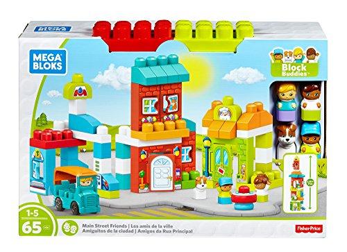 Mega Bloks Amiguitos de la Ciudad, 50 x 32 x 14 cm (Mattel Spain FFG36)