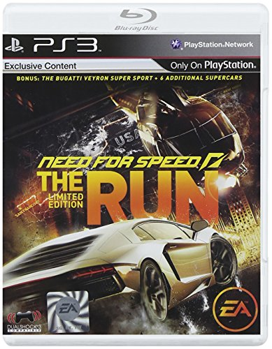 Electronic Arts Need For Speed The Run, PS3 PlayStation 3 vídeo - Juego (PS3, PlayStation 3, Racing, T (Teen))