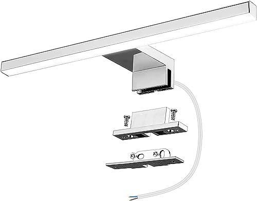 Azhien Lampe Miroir Salle de Bains LED 5W 400lm, IP44 Blanc Neutre 4000K 30cm Armoire Miroir Murale lumière Luminaire...