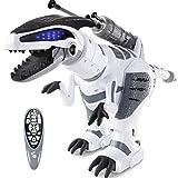ANTAPRCIS Robot Giocattolo per Bambini, RC Dinosauro con Controllo dei Gesti, Programmabile Intelligente e Camminare Ballare Giocattolo, Regalo di Natale