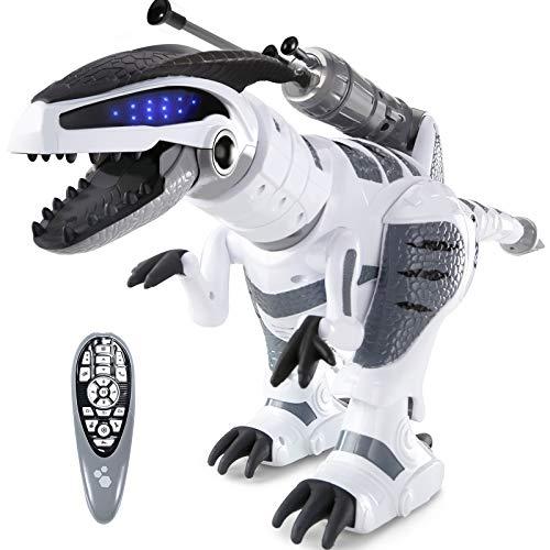 ANTAPRCIS Juguete Robot, RC Robot para Niños Tener Modo de Patrulla, Interactivo Mascota Programable Bailar y Cantar, Regalo para Niños