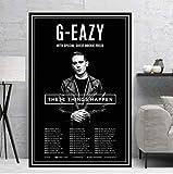 Poster Und Drucke G-Eazy Halsey Pop Rap Hip Hop Musik